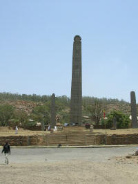 Stelae - built by the rulers of Axum in its heyday