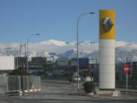 View from Renault Service Centre, Granada