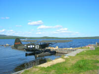 Sea Plane at Lake Inari