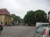 ul Szeroka, the wide street at the centre of Kazimierz