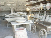 Old granary, now stores various finds.