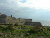 Methoni Castle - the Venetians ruled here from 1206 to 1500
