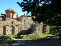 Ayia Sophia - construction of churches has not changed much in Greece