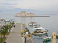 Small fortress at Nafplion