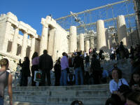 The Propylaea - entrance - must have been magnificent