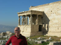 The Erechtheion - most holy site as this is where the olive tree sprouted