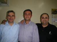 Abdul Hekim, Selcuk and Serhat from the PTT