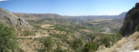 View from the Arsimeia Ruins