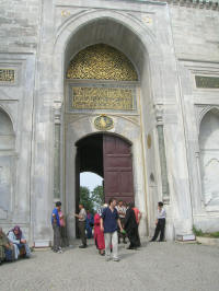 Being turned away from the Topkapi Palace