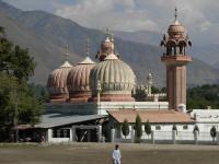 Shahi Mosque, Chitral - bit different to the usual style