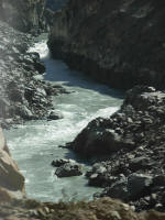 White water on the Indus River