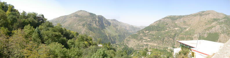Part of the Murree Valley area