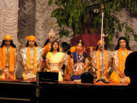 Some of the cast from the Mahabharata