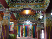 Inside the Gompa