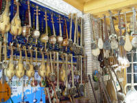 Kashgar is famous for its stringed instruments