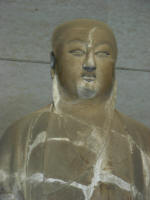 Statue representting Laotzu. From Tang Dynasty 618-907
