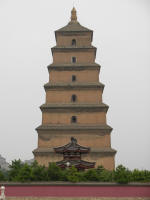 Big Wild Goose Pagoda from the outside