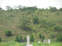 The tomb mound