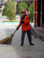 This streetsweeper will not get dirty (John)