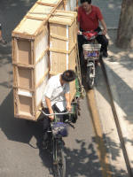 Bicycles can carry anything (John)