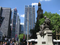 Queen Victoria, Town Hall and the modern city