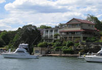 Luxury boats and houses