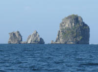 Kast Islands in the sea