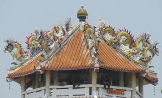 Detail on a roof