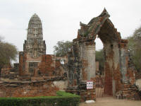 Prang from Wat Ratchaburana