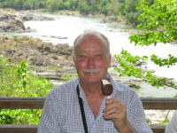 Pieter and his favourite food - a Magnum Classic