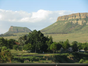 The kopjies of Harrismith