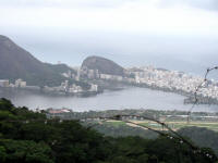 Copacabana from near Christ Redemptor