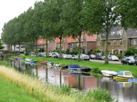Typical Dutch Canal