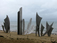 Americah Memorial - Les Braves -Omaha Beach