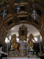 Baroque altar in the Cathederal
